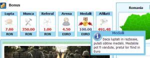 bonus medalii