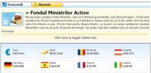 fond ministrii