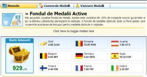 fondul de medalii